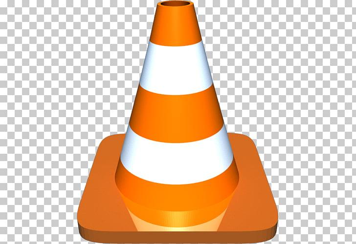 VLC media player Codec Logo Computer file, Cones PNG clipart.