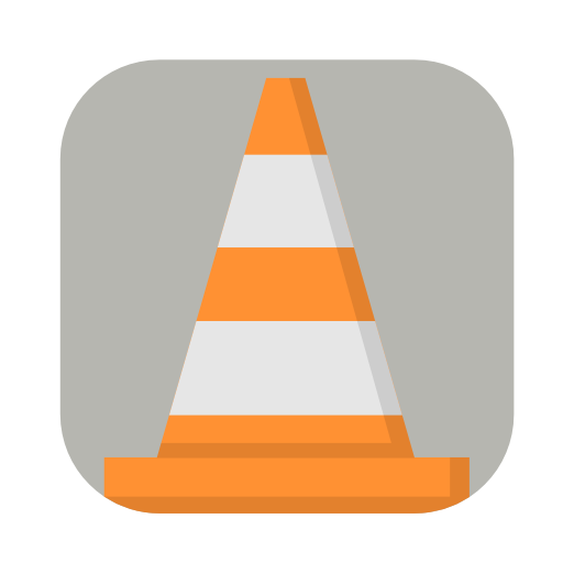 Vlc icon.