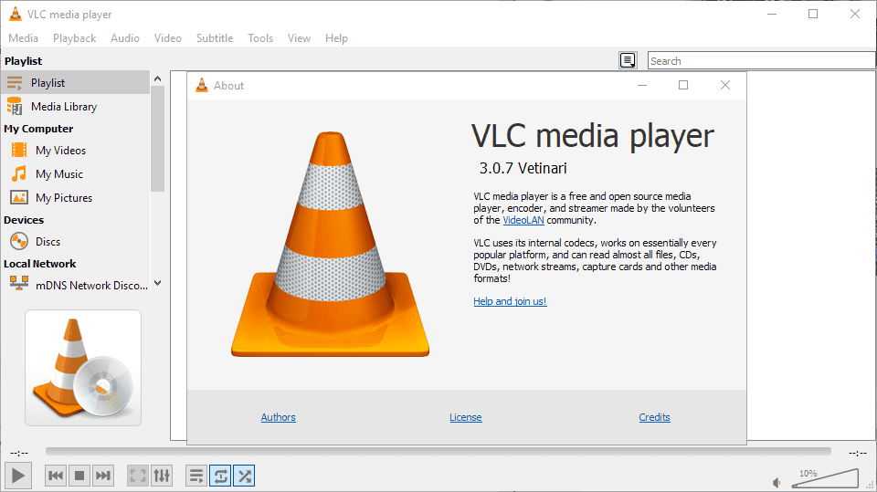 VLC Media Player 3.0.7 released: security updates and improvements.