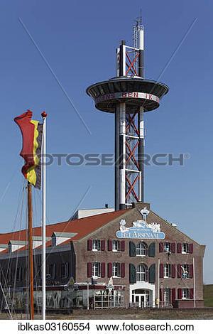 """Stock Photo of """"Het Arsenaal, pirate park and sea aquarium."""