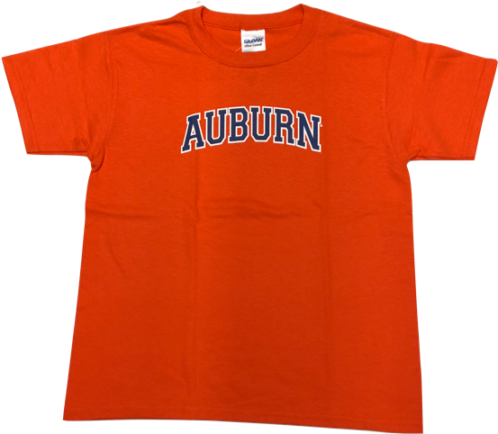 Youth Arched Auburn T.