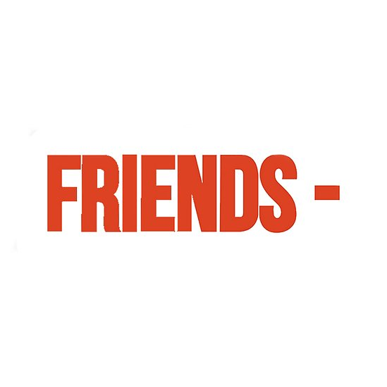 'VLONE FRIENDS ' Poster by GoldenGirlStore.