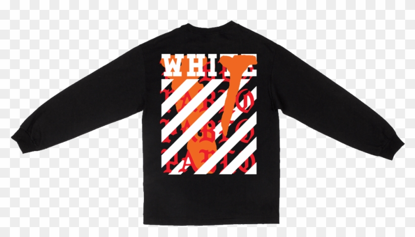 Vlone Off White Hoodie , Png Download.
