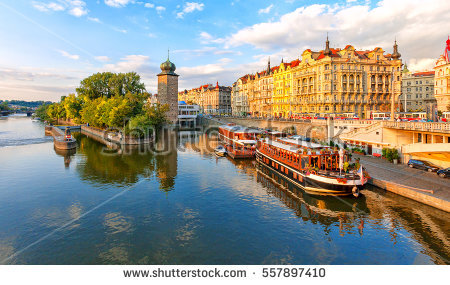 Vltava Stock Photos, Royalty.