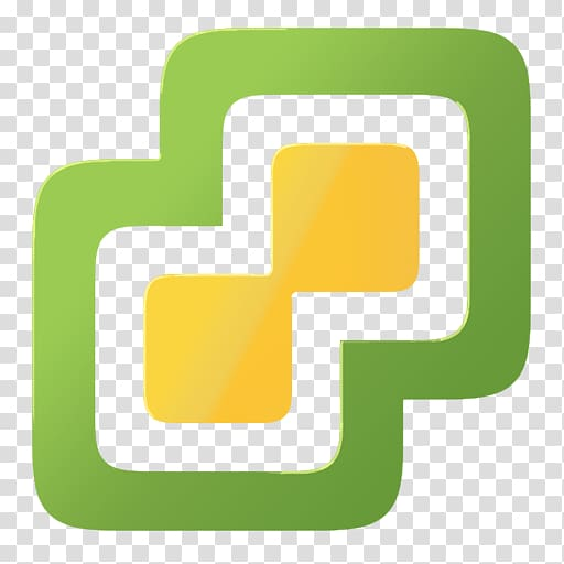 Green and yellow logo, VMware vSphere VMware ESXi Virtual machine.