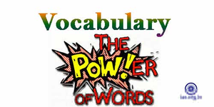 Vocabulary Clipart.