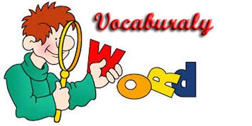 Vocab Clipart.