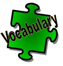 Vocabulary 20clipart.