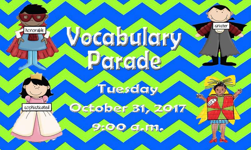Vocabulary Parade.