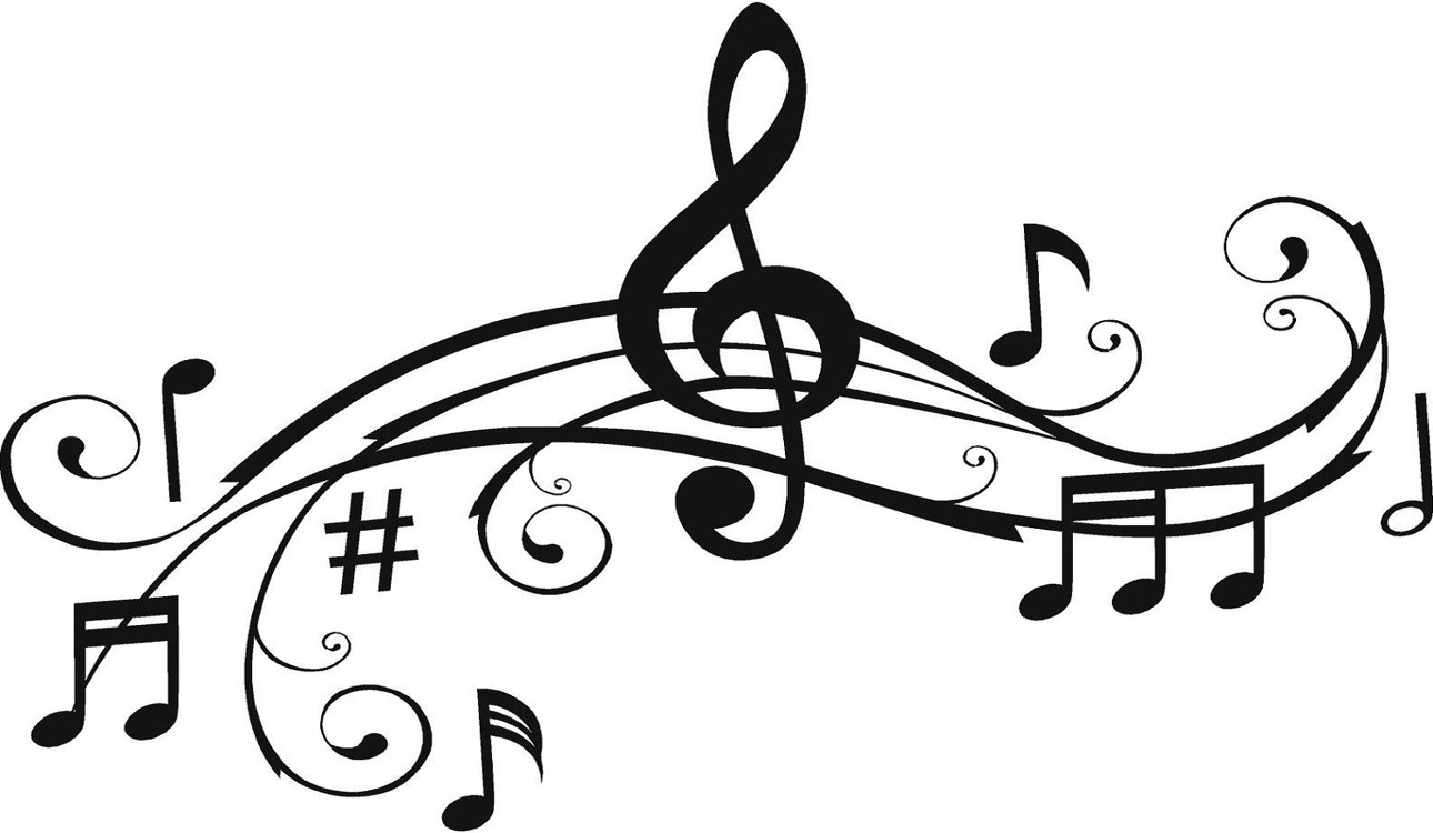 Vocal music clipart.