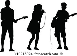 Vocalist Clipart Vector Graphics. 349 vocalist EPS clip art vector.