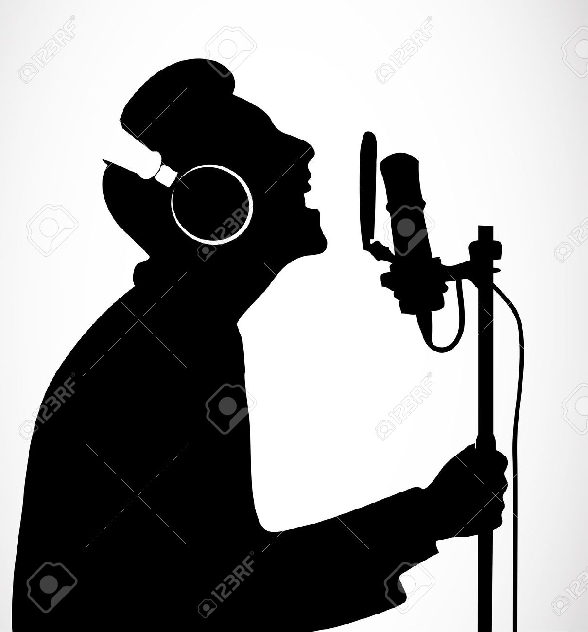 Similiar Singer Silhouette Clip Art Man Keywords.