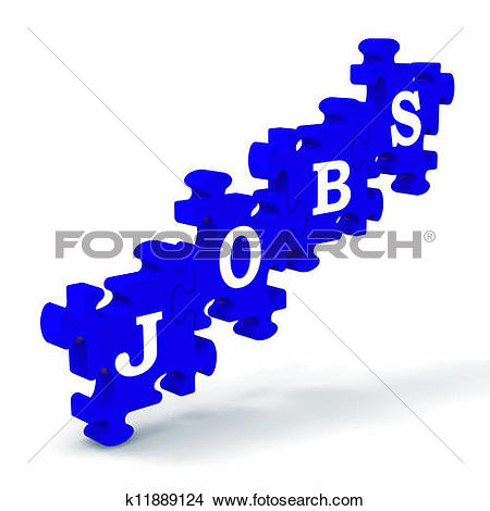 Drawings of Jobs Means Work Profession Employment And Vocation.