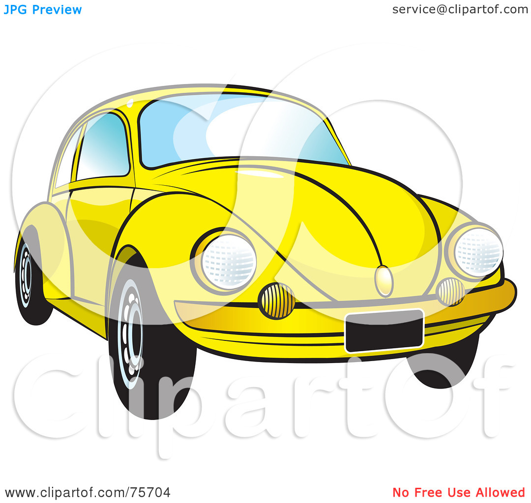 Bug Car Clipart.