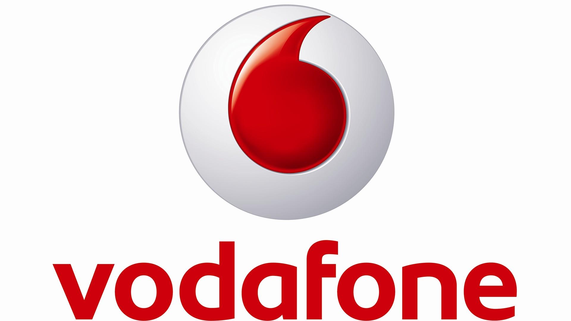 Vodafone Logo Wallpaper.