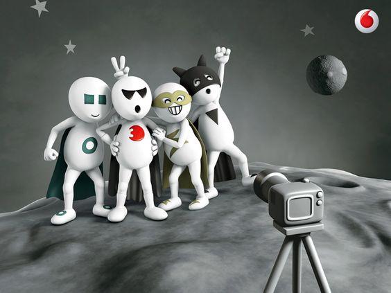 Vodafone Dog Live Clipart.