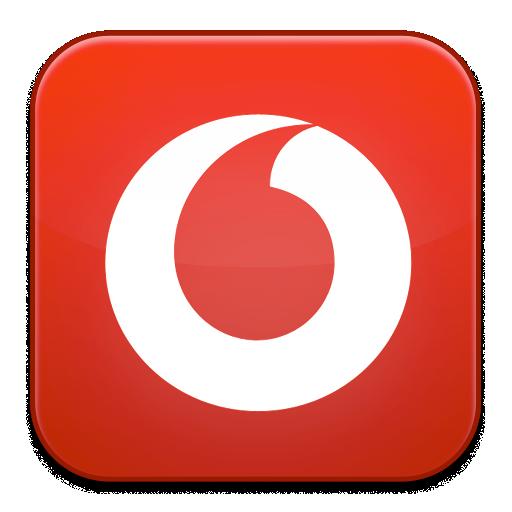 Vodafone icon.