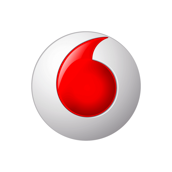 Vodafone Icon Transparent PNG.