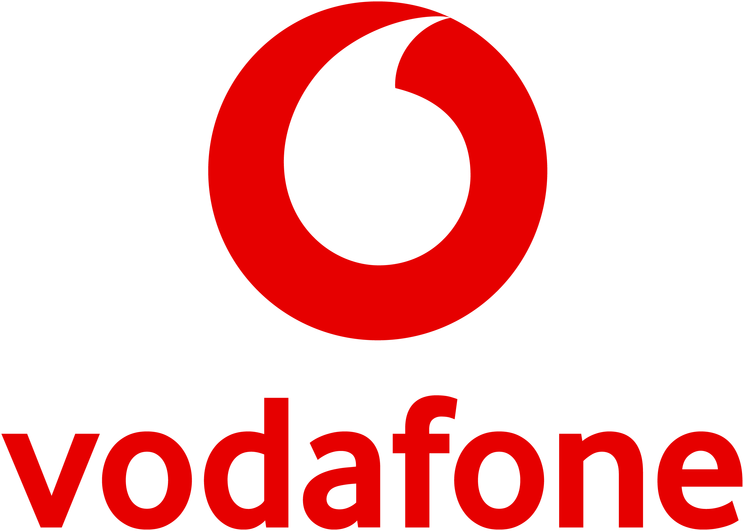 Vodafone UK Logo Image Library.