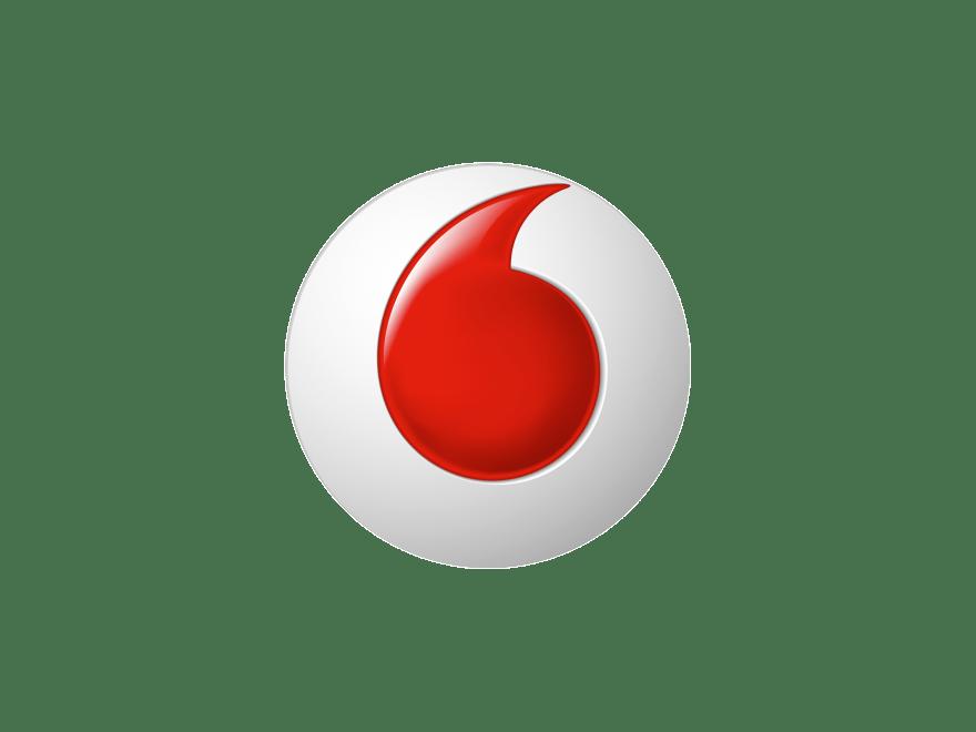 Vodafone Logo transparent PNG.