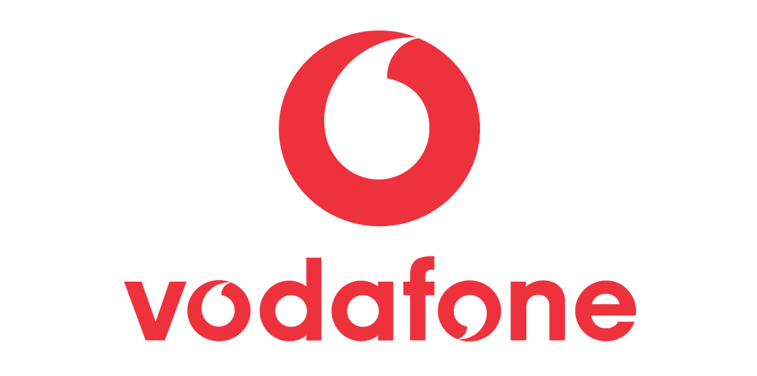 Vodafone Mobile Phone Company Brands Logo.