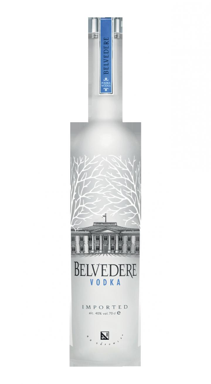 Vodka bottle PNG image.