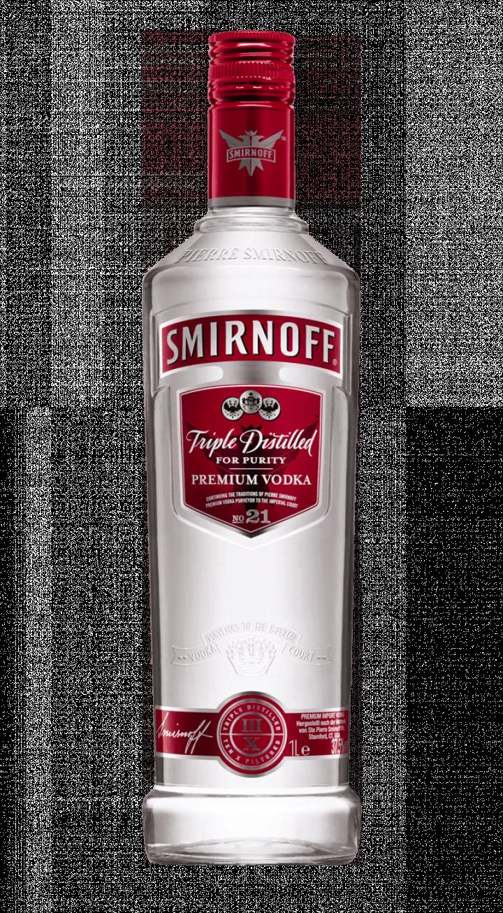 Smirnoff Vodka transparent PNG.