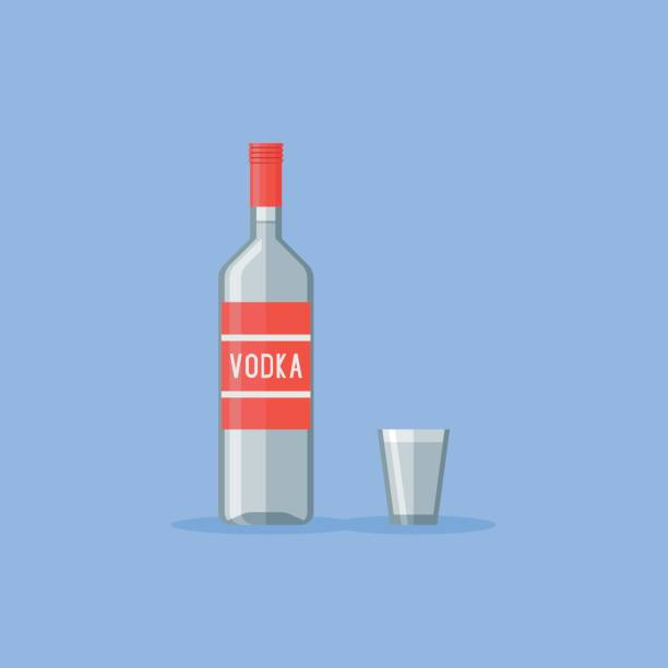 Best Vodka Illustrations, Royalty.