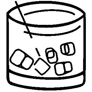 Vodka drinks clipart.