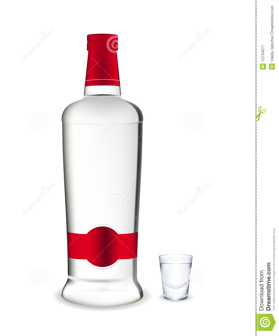 Vodka clipart.