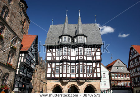Historic Townhall Of Alsfeld In The Vogelsberg Mountains, Hessen.