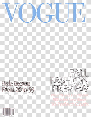 Vogue Magazine PNG clipart images free download.