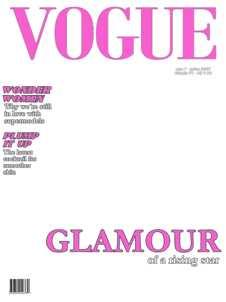 Magazine Cover Template.