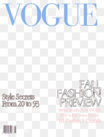 Vogue PNG.