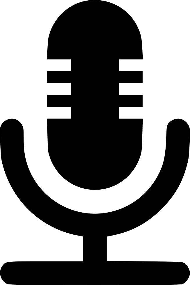 Mice Voice Recording Svg Icon Free Download.