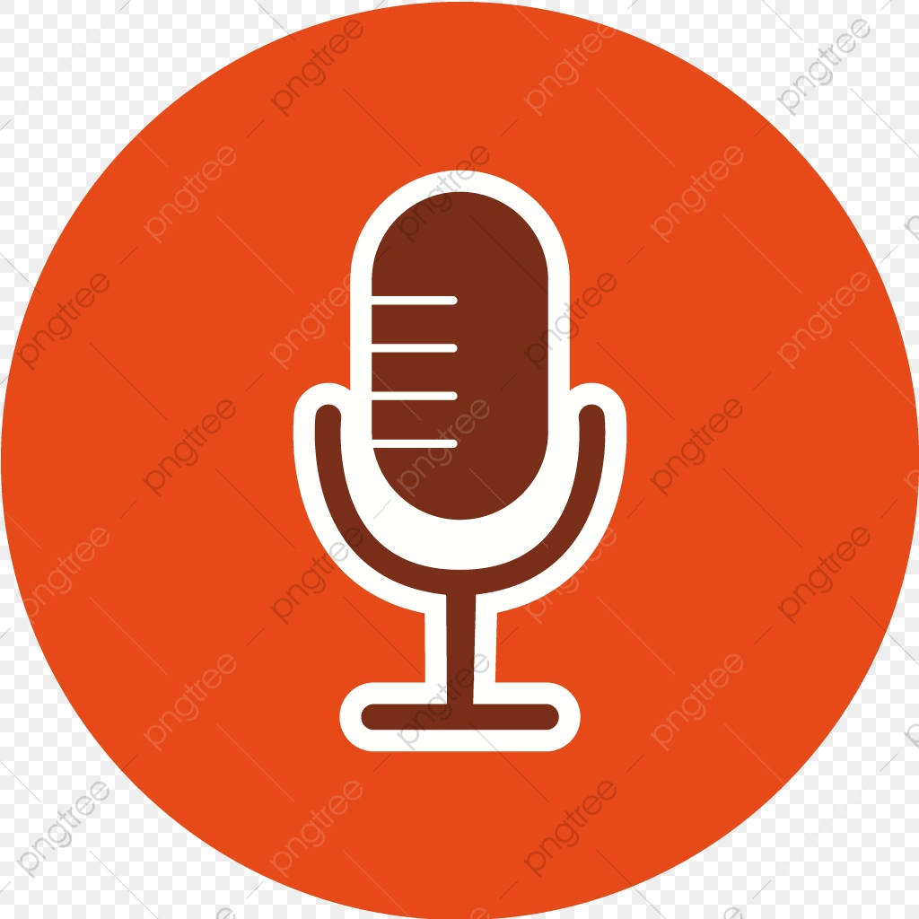 Vector Microphone Icon Karaoke, Mic Icon, Voice Recorder Icon, Audio.