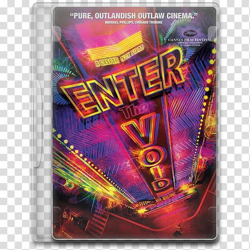 Movie Icon Mega , Enter the Void, Enter The Void DVD case.