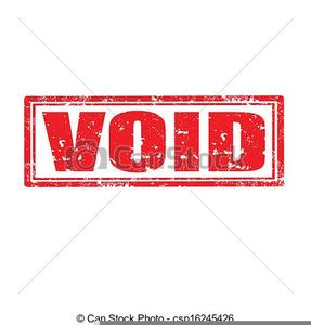 Clipart Stamp Void.