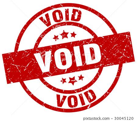 void round red grunge stamp.