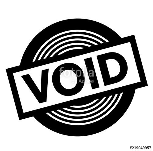 void black stamp\