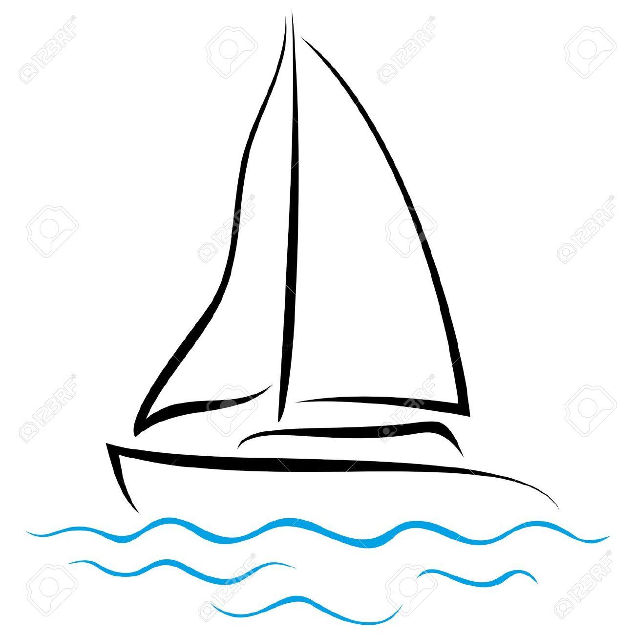Clipart sur la mer.