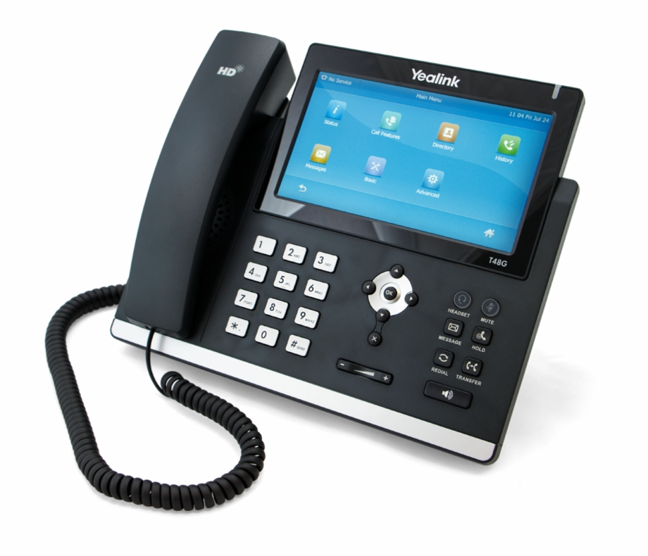 Yealink T48 Ip Phone Front.