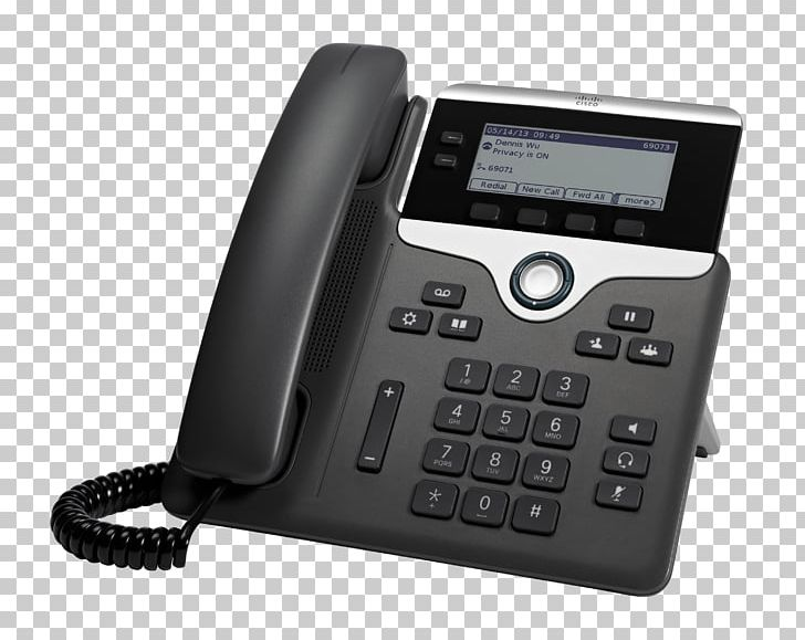 VoIP Phone Cisco 7821 Telephone Voice Over IP Session Initiation.