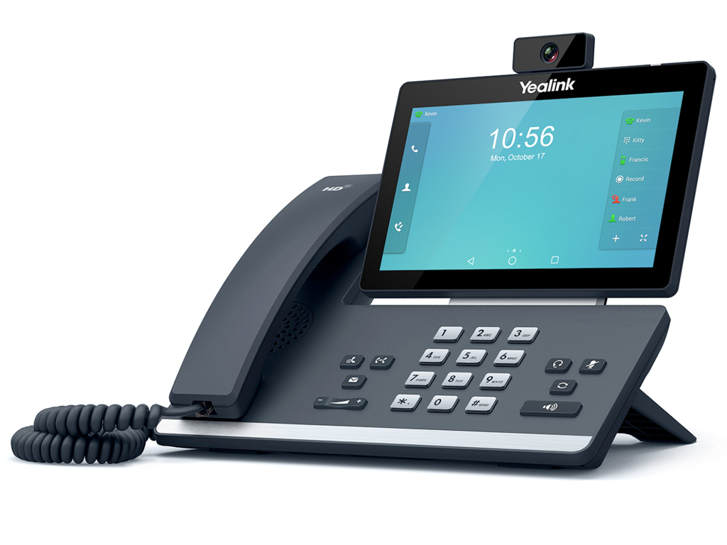 Yealink T58V 16 Line / 16 Account VoIP PoE Smart Media Phone.