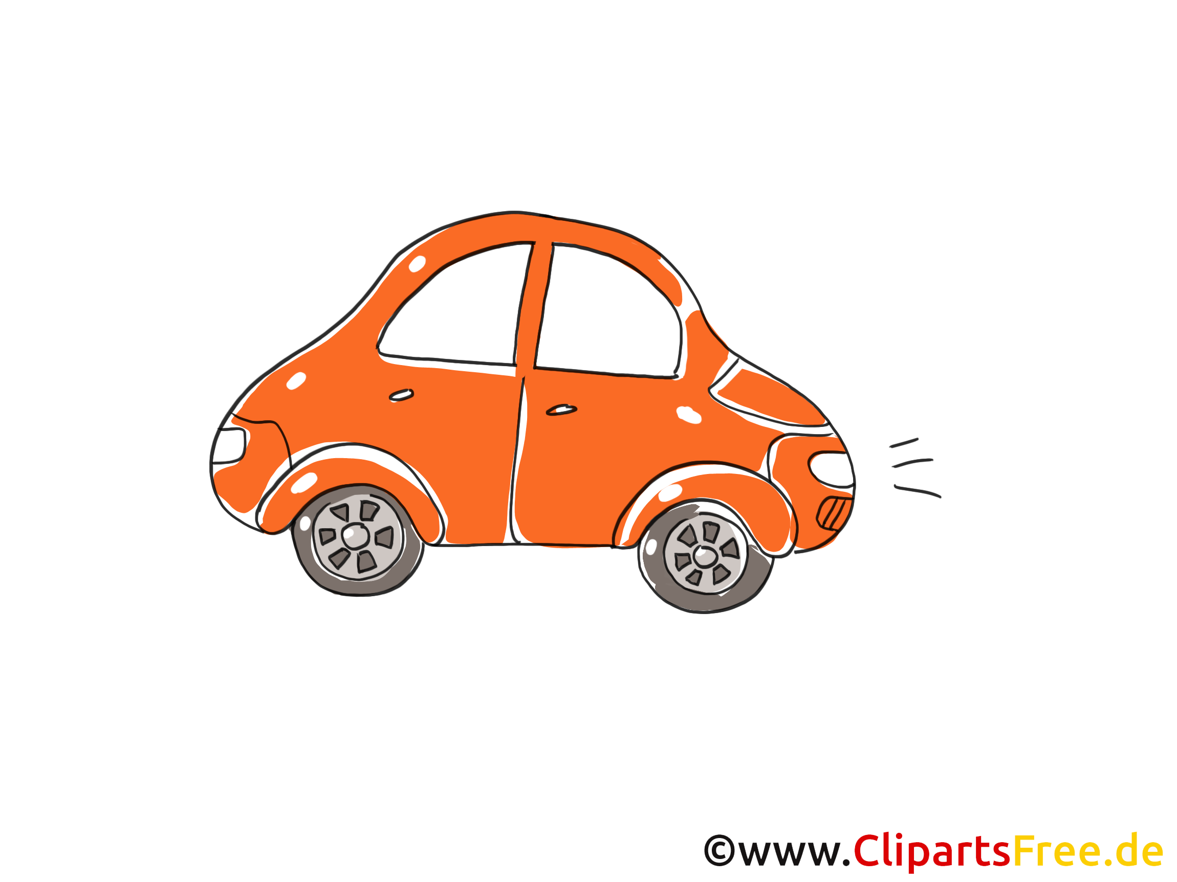 Voiture clipart 3 » Clipart Station.