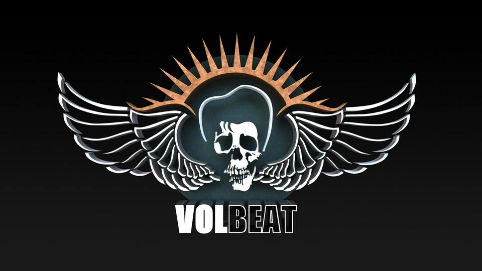 VOLBEAT logo.