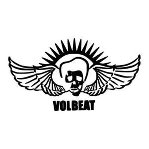 Details about Volbeat band sticker logo vinyl..