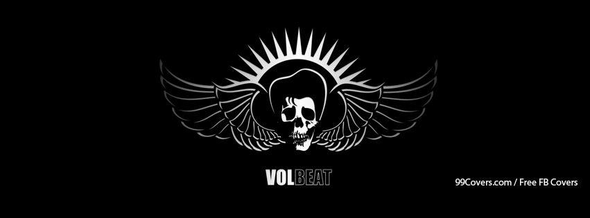 Volbeat Logo Black And White Facebook Cover Photos.