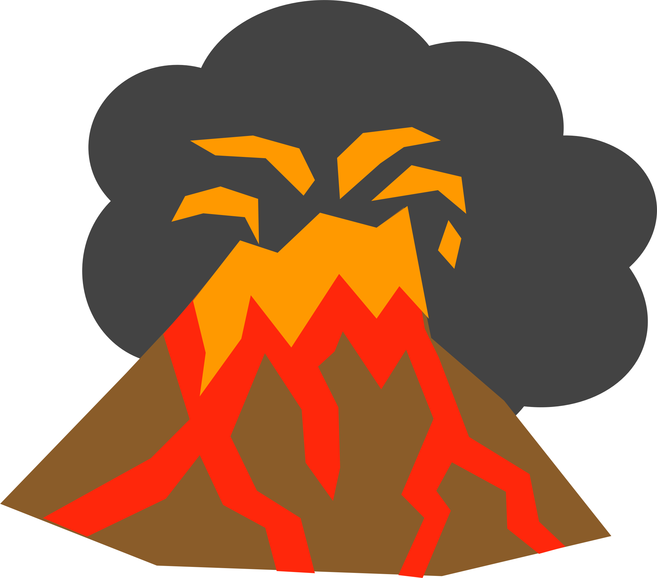 Volcan clipart 1 » Clipart Station.