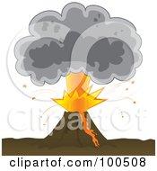 Volcanic Ash Cloud Posters & Volcanic Ash Cloud Art Prints #1.